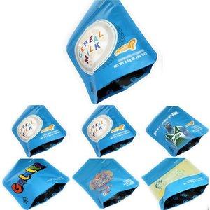 À prova de envio Mylar Free Packaging Bolsas Dhl Bags Mylarbag 5styles cookies Mylar Bolsas 3,5 gelatti Cheiro aEFmG