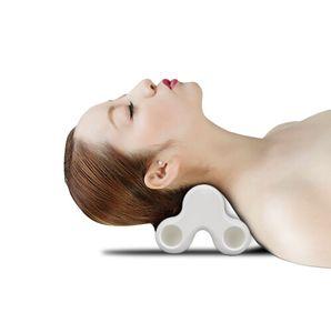Forma de hueso masajeador para el cuello del hombro masaje de espalda Almohada para el hogar y de la oficina - Akaishi Tsu-bo almohada de masaje