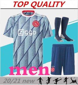 TOP kalite 2020 2021 Ajax FC Futbol Formalar yetişkin kitleri 20/21 Camisa NERES ZIYECH TADIC Huntelaar VAN DE BEEK Futbol Gömlek