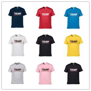 남성 여성 부동산 재벌 도널드 트럼프는 2020 T 셔츠 라운드 넥 짧은 소매 모달 T 셔츠 만들기 미국의 위대한 다시 편지 캐주얼 맨 티 S-3XL의 D22502 인쇄하기