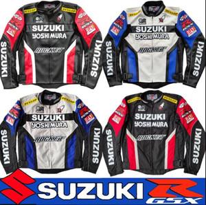 Suzuki GSX novo vestuário de proteção de moto rali off-road quatro estações equitação da motocicleta traje de corrida dos homens terno despedaça-resistente