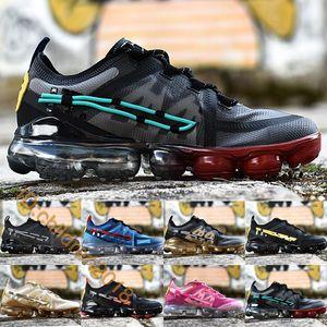 Kaktüs Bitki Bit Pazarı x VPM 2019 Erkekler Kadınlar Için Koşu Ayakkabıları Eğitmenler Yüksek Kalite CPFM Metalik Altın Spor Sneakers Boyutu 36-45