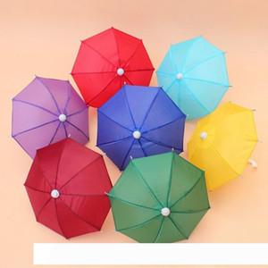 Mini Simulation Regenschirm für Kinder Spielzeug Cartoon Viele Farbe Regenschirme dekorative Fotografie Props tragbar und Licht 4 9db ZZ