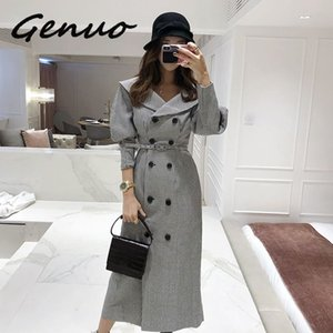 Fashion women comfortable warm long coat new arrival high quality temperament outerwear thick holiday outdoor trend trench
