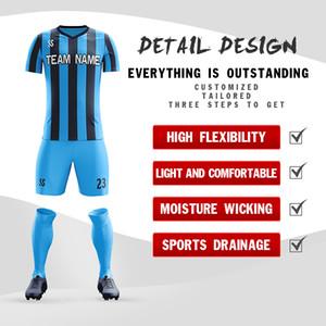 Professionalizzata desgin pratica squadra uniformi di calcio dei capretti di disegno Anti_Bacterial calcio make sui set jersey di calcio