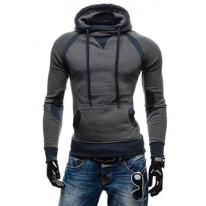 Men Slim Pullover Hoodie Warm Fleeces Hooded Sweatshirt Coat Sweater Outwear c