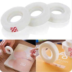 Easy To Tear Invisible Adhesive Tape 12mm Writable Copy Leave No Trace Stationery Wipe Tapes 2016 Office & School Supplies HA523