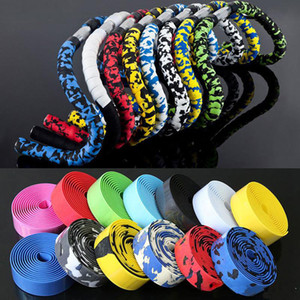 bicycle Cycling Handle Strap Belt Handle bar Tape Wrap Multi-color Camo Strap
