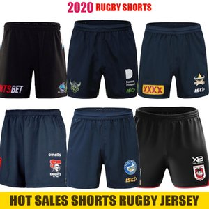 NRL Rugby League Jerseys 2020 calções Parramatta Eels Manly Canberra Cowboys Cronulla Sharks cavaleiros Penrith Panthers st george Rugby Jersey