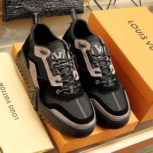 Louis Vuitton LV Herren Schuhe beiläufige Sport-Breathable Art und Weise Turnschuhe Chaussures gießen hommes Luxus Wandern Sneaker Herrenschuhe Fashion Art Fußbekleidungen Schuhe