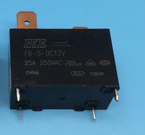 Free shipping lot(5pieces lot)100%Original New HKE F6-S-DC12V12VDC 12V 4PIN 25A Power Relay