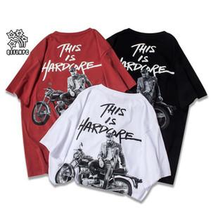 2019 летний бренд верхняя мужская футболка с короткими рукавами черная белая футболка мужская дизайнер футболка Tee круглые шеи мода футболка S868