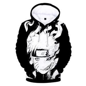 2 To 13 Years Kids Hoodies Japan Anime Naruto 3D Printed Hoodie Sweatshirt Boys Girls Long Sleeve Hooded Jacket Children Clothes