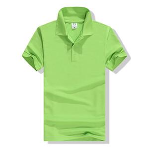 Polo T-shirt Classe Uniforme Logo Lettered Work Clothes culturale Pubblicità shirt fai da te del bicchierino della squadra del partito maniche