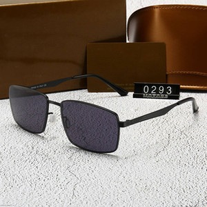 Designer Sunglasses Luxury Sunglasses for Mens Woman Brand Model G 0293 Highly Quality with Box