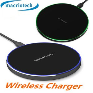 Fast 10w Qi Wireless Charger For iPhone 8 X Max QC3.0 Wireless Charging for Samsung S9 S8 Note 9 USB Charger Pad