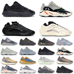 Adidas yeezy 700 v2 Boost yaz Siyah beyaz Erkek Koşu Ayakkabıları Krem Bred kırmızı zebra Kadın Moda Spor Sneakers 36-45