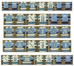 빈티지 피츠버그 펭귄 유니폼 33 MARTY McSORLEY 20 LUC ROBITAILLE 9 BATHGATE 10 Earl Ingarfield 2 LEO BOIVIN 30 LES BINKLEY CCM Hockey