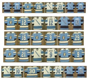 فانتازيا بيتسبيرغ بينجونز جيرزي 33 MARTY McSORLEY 20 LUC ROBITAILLE 9 BATGATE 10 Earl Ingarfield 2 LEO BOIVIN 30 LES BINKLEY CCM Hockey