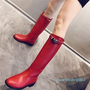 2019 fashion designer women shoes Fashion Designer Women boots Boots womens winter boots Women Dress Shoes size 42