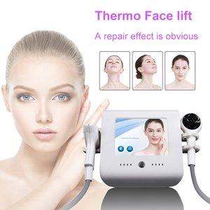 써모 리프트는 얼굴 리프팅 미용 기기에 대한 집중 RF 열 리프트 냉각 RF 피부 회춘 진공 집중