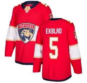 Florida Panthers Red Home Hockey Jerseys TOPS، 2019 mens 1 luongo 5 EKBLAD 16 BARKOV Training Hockey WEAR، fan متجر على الانترنت للبيع