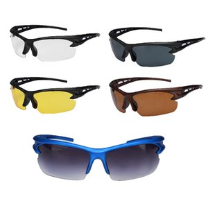 5 Colors Unisex UV400 Cycling Glasses Road Bike Eyewear Outdoor Sports Mountain Hiking Running Driving Sunglasses