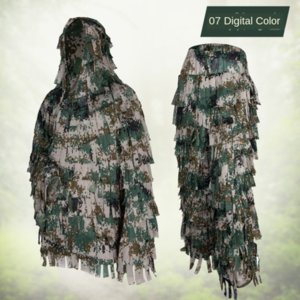Survival in wilderness hunting jungle bionic camouflage military fan supplies military fan uniform camouflage. hunting suit camouflage Geely