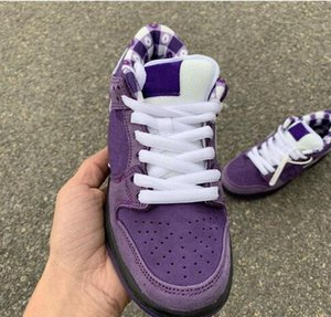 Conceptos x SB Dunk Low Skateboard Shoes Red Blue Purple Green Lobster Fashion Star Sole Casual Sports Shoes