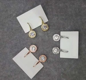 New York Stylist Earrings Fashion Crystal Drop Earrings with Big Diamond Alloy Jewelries Cheap Fashion Jewelries Women gifts