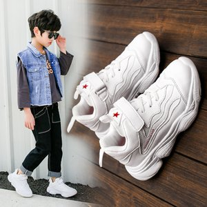 Hot sale New Children Casual Shoes Leather toddler girls Running Shoes Damping Boys Sneakers Soft Bottom Kids Sports