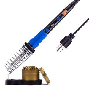 928D Soldering Iron Kit 110V 65W Portable Temperature Adjustable Pen Digital Welding Tool Soldering Iron for Electric Pcd Weldin