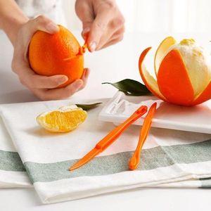 Orange Peeller 15 см Длинная секция Orange или Citrus Peeler Fruit Zesters Компактный и практичный инструмент для кухни Оранжевый Peeler Ea114-1