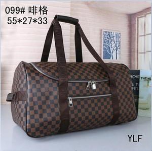 (13 estilo para elegir) por mayor y menor !!! grandes bolsas de viaje de la capacidad de diseño de la marca de lona bolsas de café a cuadros # 099