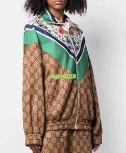 высокого класса женщин девушки ActiveWear набор сверхразмерные куртка флору переплетенных с длинным рукавом Толстовка бег трусцой брюки леггинсы брюки моды костюм