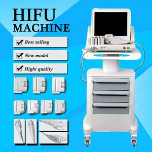 2019 Tıbbi Sınıf HIFU Gerçek ABD Standart Yüksek Yoğunluklu Odaklanmış Ultrason Hifu Yüz Germe Hifu Zayıflama Makinesi Ile 3 Veya 5 İpuçları