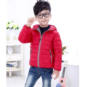 Season 2020 baby children's Warm Down down jacket jacket medium and large children's clothing boys and girls warm hooded coat
