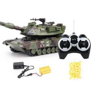 1: 32 RC War Tank Tactical Vehicle Main Battle военный пульт дистанционного управления танк с стрелять пулями модель электронных хобби мальчик игрушки