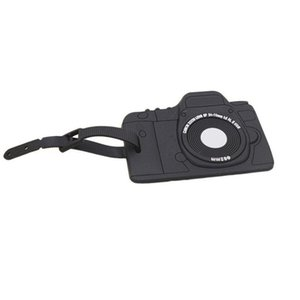 Luggage Tags Portable Secure Travel Kit Suitcase Id Black Camera Handbag Tote Bag