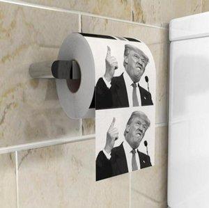 트럼프 화장지 농담 재미 용지 조직 크리 에이 티브 욕실 재미 화장지 대통령 도널드 트럼프 화장실 논문 OOA7905