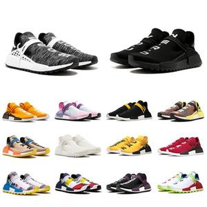 2019 race humaine Hu piste pharrell williams hommes chaussures de course Nerd noir bleu femmes hommes formateurs mode sport coureur baskets chaussures de plein air