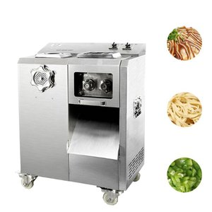 Stainless steel Large kitchen meat cutter machine slicer multi-function meat cutting machine automatic removable knife group