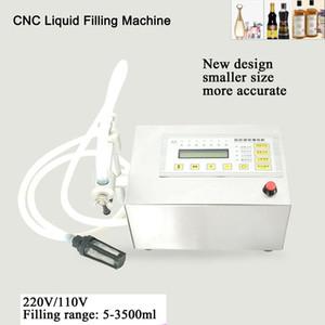 LT-160 Mini Pump Control Digital bebida líquida da água de engarrafamento Máquina de enchimento 5-3500ml Filler Machine