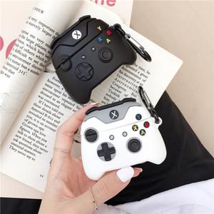 Para AirPods 1 2 AirPod Pro Nueva PS4 Juegos Diseño Negro Blanco Caso para Airpods Caso inalámbrica Bluetooth para airpods 1 2 3