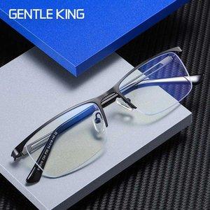 DOUX KING Blue Men Lumière de blocage Lunettes Ordinateur Lunettes Protection des jeux Blu-ray Blue Ray lunettes anti radiations