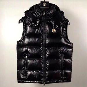 Nuevo francés anorak hombres chaleco de invierno gillets UK populares gilets chaqueta cuerpo cálido más tamaño hombre abajo parkas anorak con capucha abajo chaleco