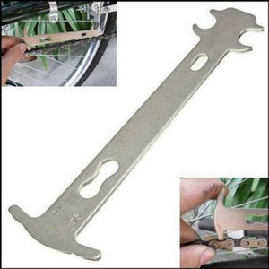 1pcs vélo Chain Wear Indicator Checker Mountain Road Bike VTT Chaînes Gauge mesure Règle vélo de rechange outil de réparation