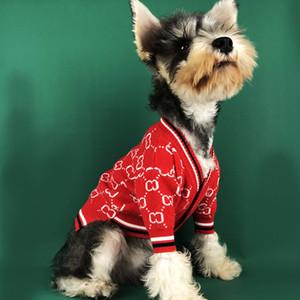 Nuevo otoño invierno mascotas Hip Hop suéter de lana de alta Street Style ropa del perro del animal doméstico del suéter de peluche del perro del dogo Ropa WX9-1763