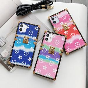 Designer Tide Marke Telefon-Kasten für iphone SE 2 11 Pro Max Xs Xr X Stoß- Platz Telefon-Kasten für iphone 7 8 Plus 6 6s