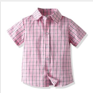 New best selling children's Short Sleeve Shirt academy style polo t-shirt children's Summer Boys' cotton and vermilion polo